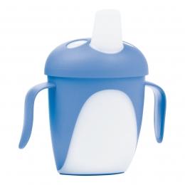 "Canita anti-varsare Haberman ""Pinguin"", Canpol babies, 240 ml, albastru"