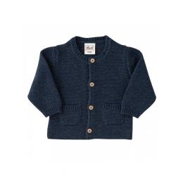 Jacheta lana si bumbac organice