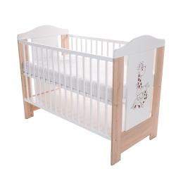 Patut pentru bebelusi din lemn masiv, 120x60 cm, Gigi