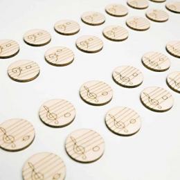 Memo game – Note muzicale – Cheia FA