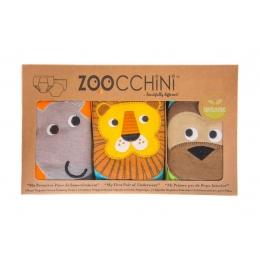 Set 3 Chilotei Antrenament, Zoocchini, Baiat, 2-3 ani, 100% Bumbac Organic, Safari