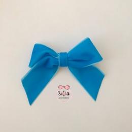 Celine Dark Blue Clips Clama de par (agrafa) albastru inchis