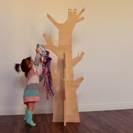 Cuier Bufnita din lemn de mesteacan Oak Toys