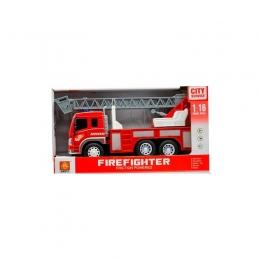 Masina de pompieri cu sunete si luminiMacara 3ani+ Hausmann