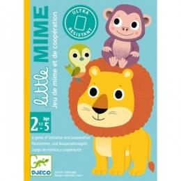 Joc de carti Djeco Toddler Little Mime
