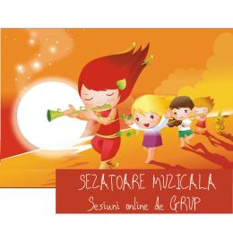 SEZATOARE MUZICALA - Atelier muzical online pentru copii si parinti - in fiecare Luni 11.00-11.30