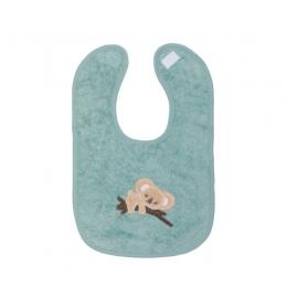 Baveta bumbac organic aqua 27x39 cm Koala Fillikid