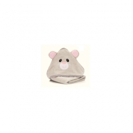 Prosop brodat Mouse  grey  75x75cm. Fillikid