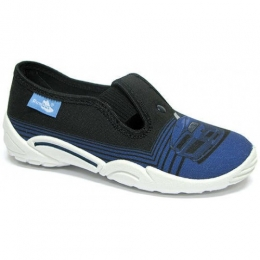 Pantofi Baieti, Negru Albastru, marca RenBut