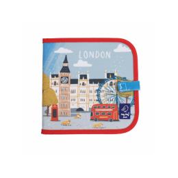 """Carte refolosibila pentru desen/colorat - Colectia """"Cities of Wonder"""" - London"""