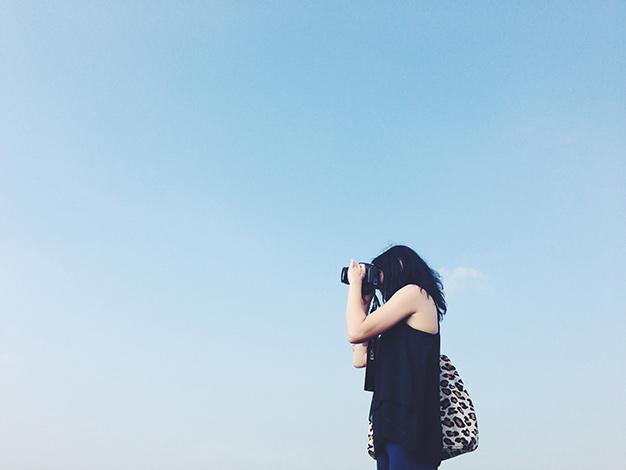 Tine fotografiert