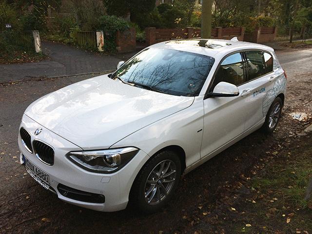 1er BMW DriveNow
