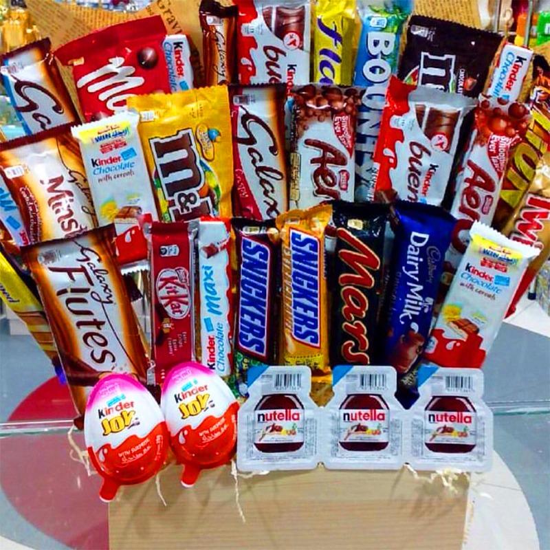 الحلويات والشوكولاته