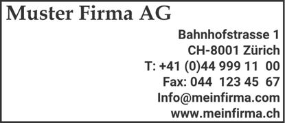 Bild von Vorlage Firmenstempel 7 Zeilen rechtsbündig