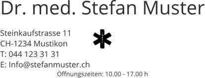 Bild von Arzt Logo Öffnungszeiten