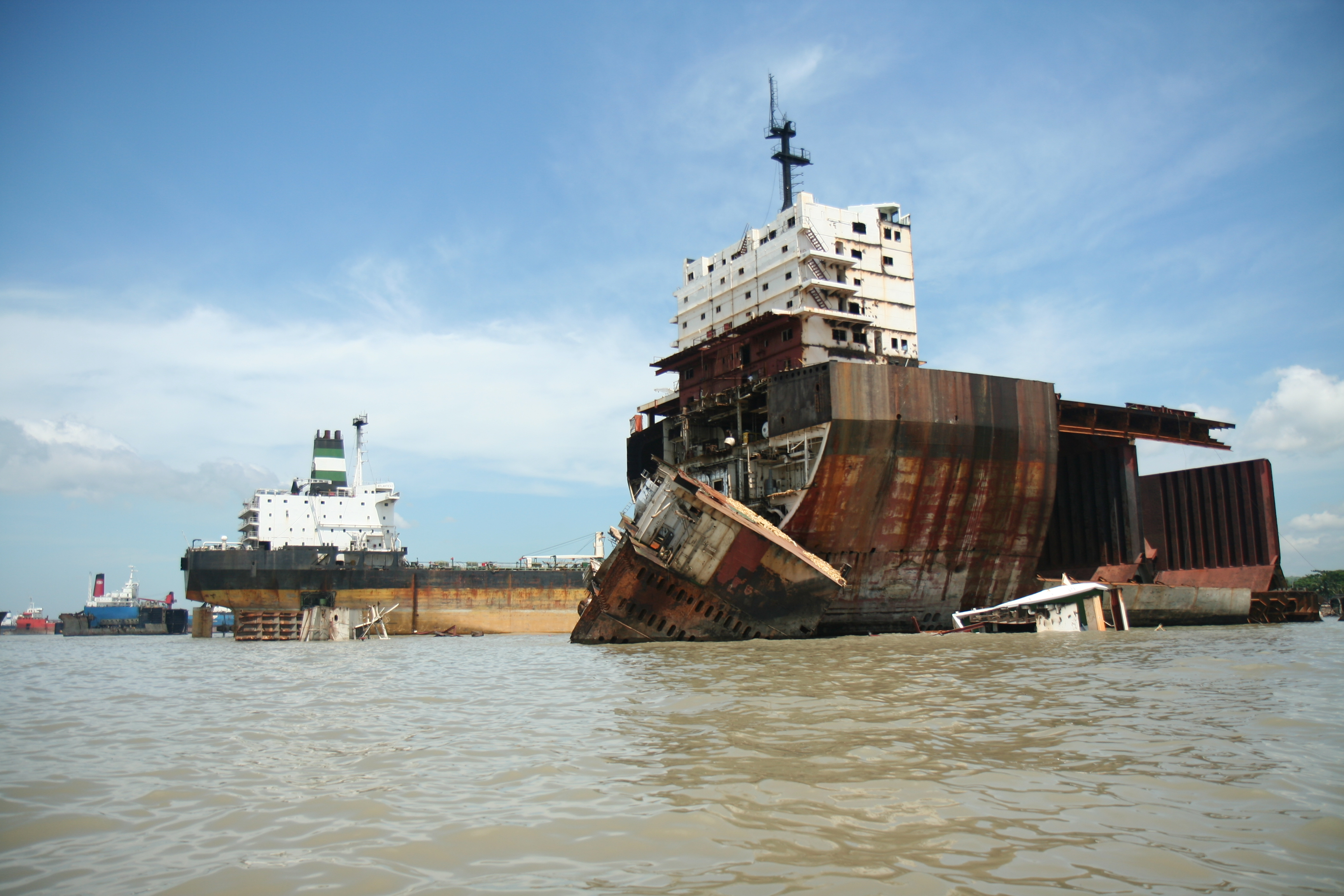 CHITTAGONG SHIP BREAKING BANGLADESH