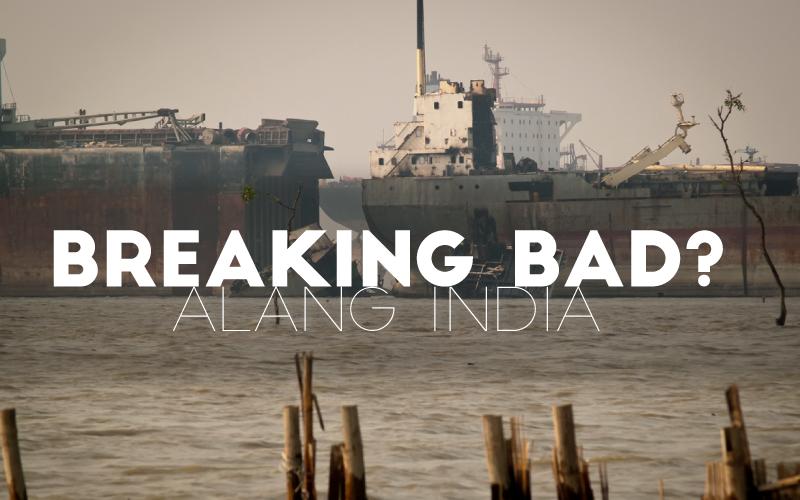 ALANG SHIP RECYCLING AREA