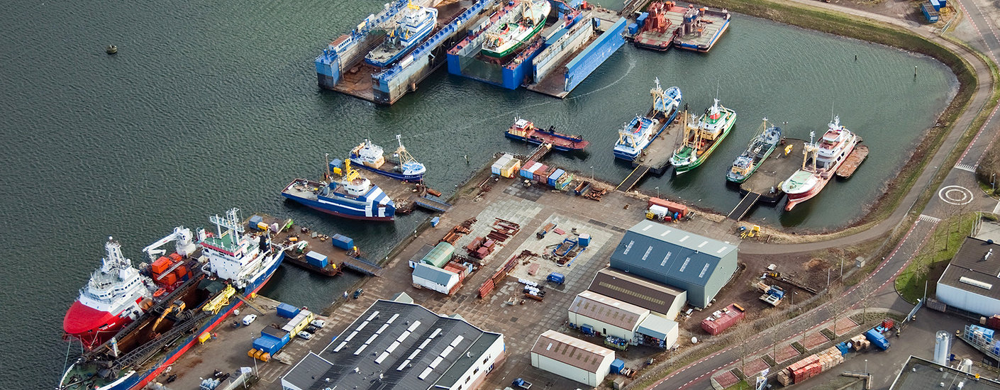 DAMEN MAASKANT SHIPYARDS STELLENDAM