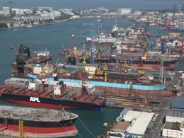 KEPPEL SHIPYARD LTD - BENOI YARD