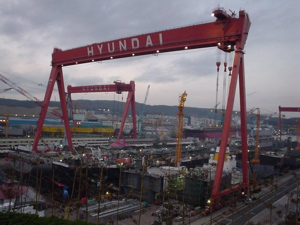 HYUNDAI HEAVY INDUSTRIES Gunsan shipyard