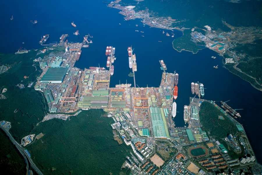 SAMSUNG HEAVY INDUSTRIES CO LTD (GEOJE SHIPYARD)