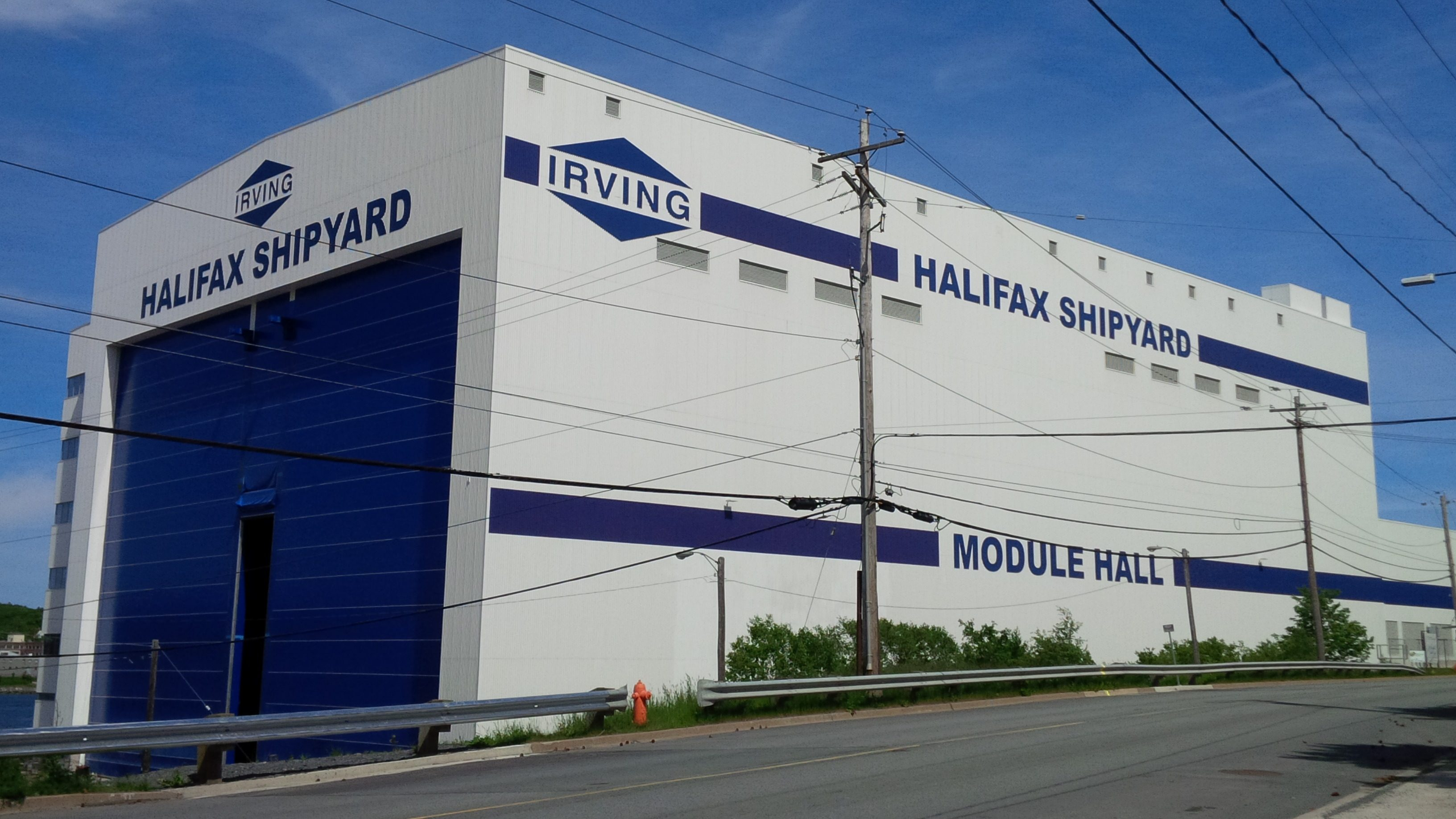 IRVING SHIPBUILDING INC (HALIFAX SHIPYARDS)