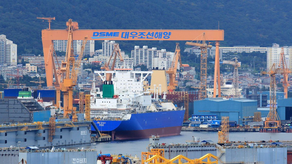 DAEWOO SHIPBUILDING & MARINE ENGINEERING CO., LTD. (DSME)
