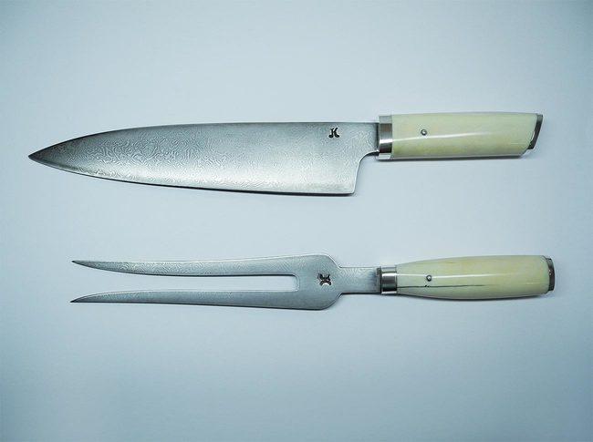 srebrni dodatki za noz in vilice