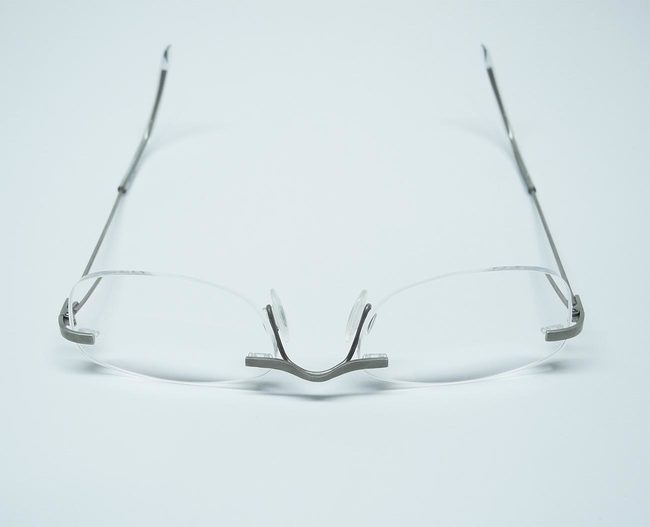 white gold frame glasses 14ct