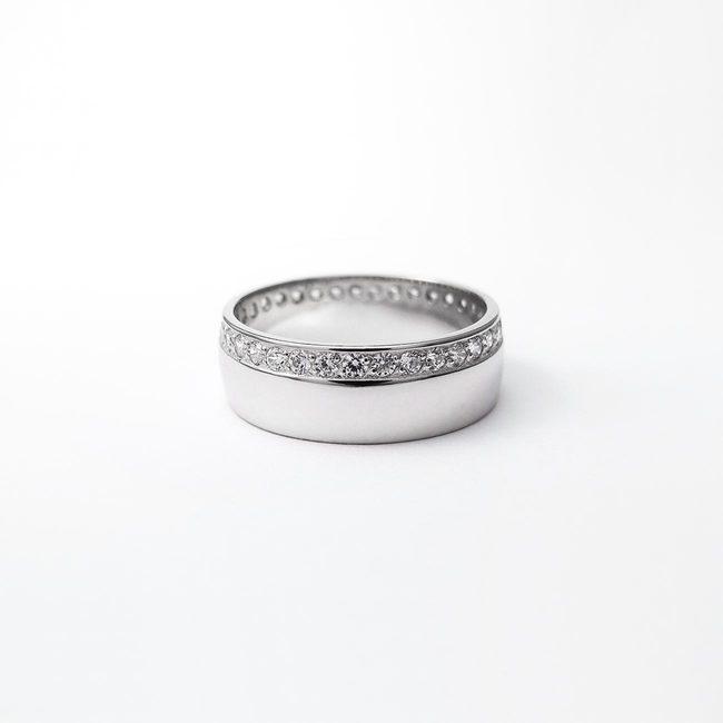 prstani poročni neskoncni diamanti zlato