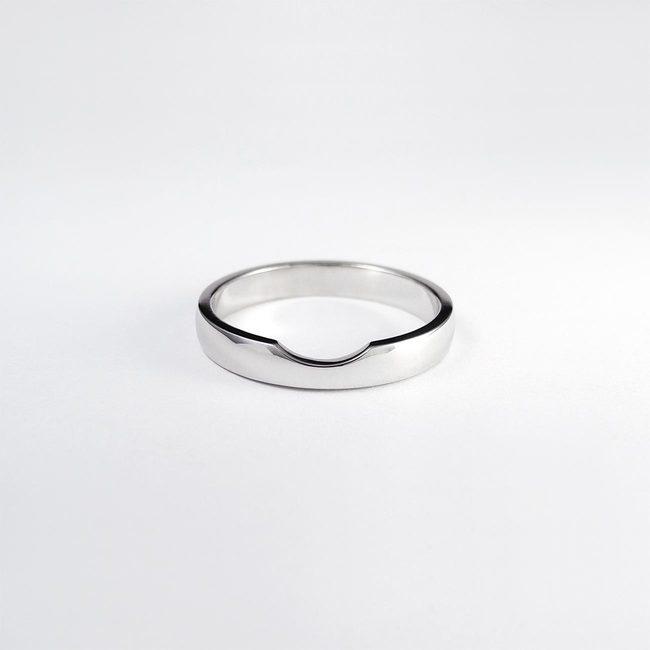 poročni prstan z zaročnim rinka