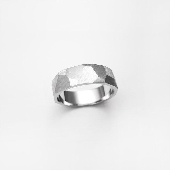 prstan poročni ice moški mat obdelava