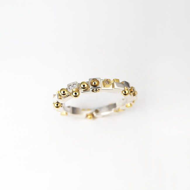prstan ekstravaganten unikaten modern zlato diamanti