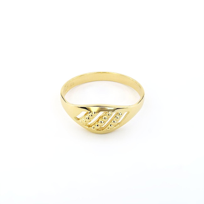 bague en or simple