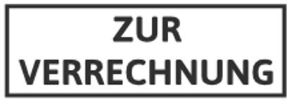 Bild von ZUR VERRECHNUNG