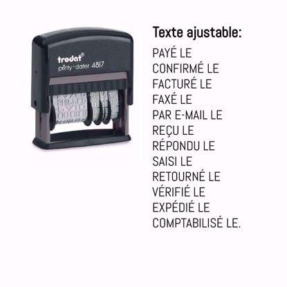 Bild von Trodat Datumstempel 4817 FR