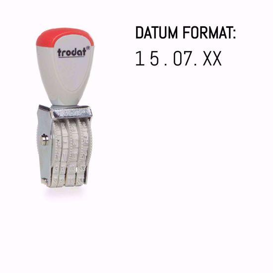 Bild von Trodat 1004 - Hand-Datumstempel