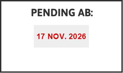 Bild von Datumstempel PENDING AB
