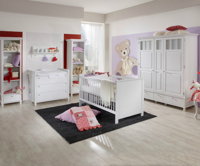 babyzimmer sch ne inspirationen bei westwing. Black Bedroom Furniture Sets. Home Design Ideas