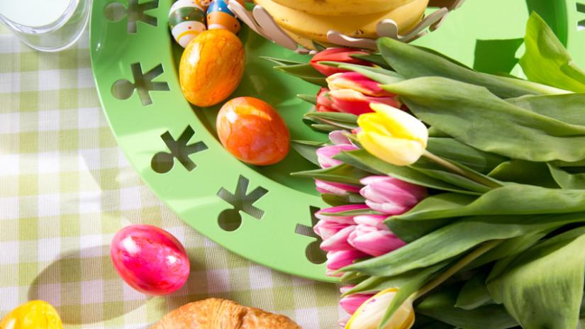 Ostern eine Zeit der blumigen Dekorationen