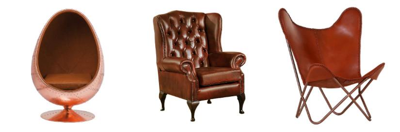 Wohnzimmer einrichten mit Sesseln in verschiedenen Stilen