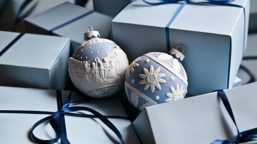Weihnachtsdeko mit Geschenken