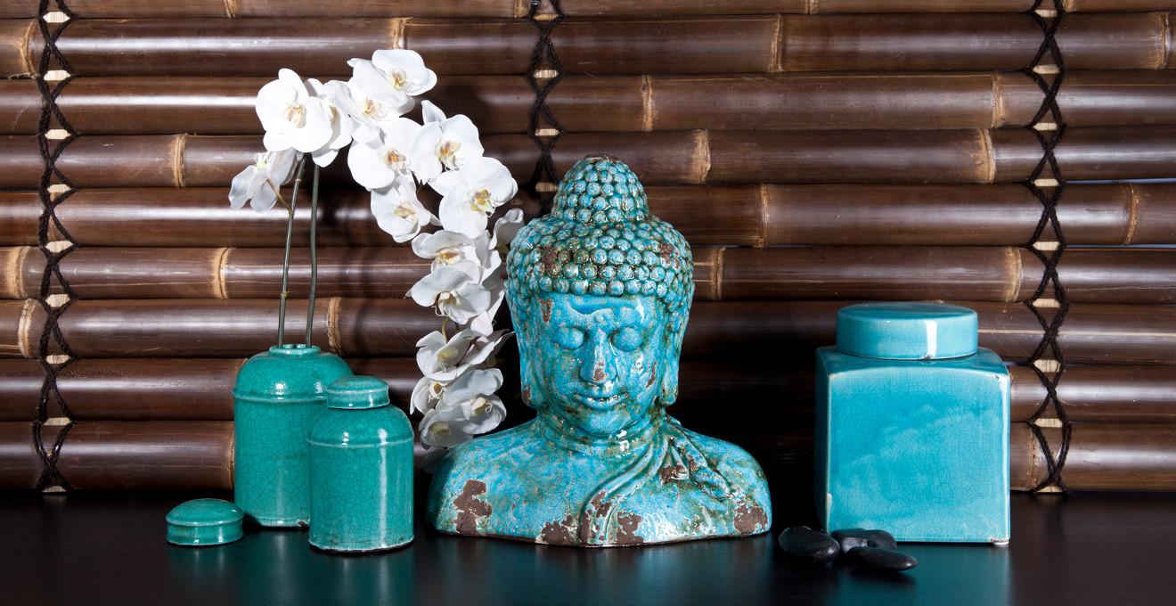 Asia Deko mit Buddha