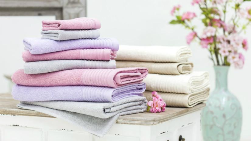 Badgestaltung mit Textilien