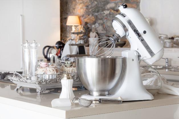 KitchenAid Rührgerät weiß
