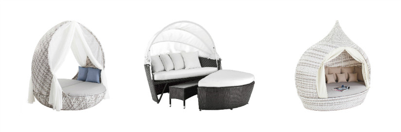 polyrattan m bel f r innen und au en westwing. Black Bedroom Furniture Sets. Home Design Ideas