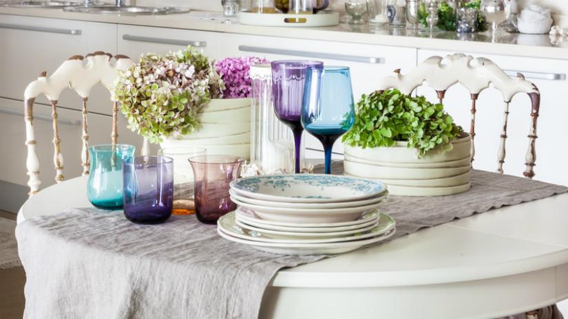 Keramik in der Küche für mediterranes Wohnen