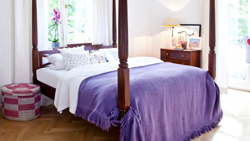 Bett im Baldachin Stil für Mädchen