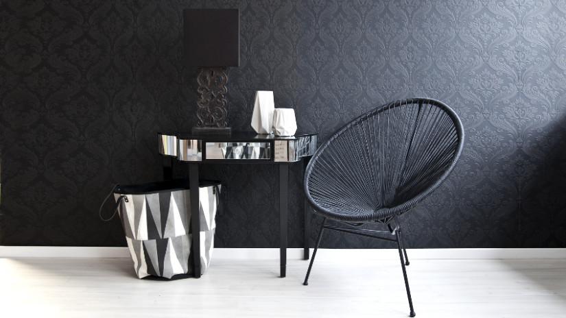 Moderne Wohnzimmer Mit Design-Highlight
