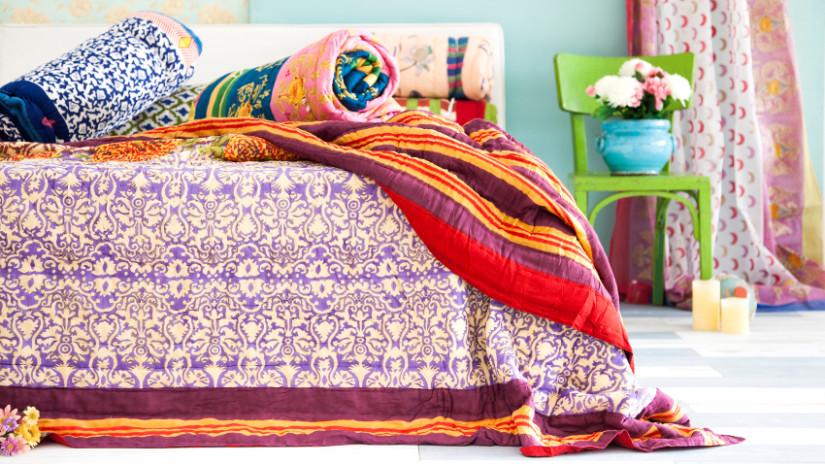 Schlafzimmer Deko mit hinreißenden Tagesdecken